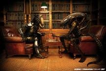 Alien Creatures & Zombies