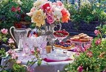 A Garden  Party / Recipes. Place Settings. Tea and Cocktail Drinks. Inspiring Food Ideas. Buffets and Decorations for your Garden Party (Weddings, Buffets, Afternoon Teas in the garden or just fun family gatherings) Please feel welcome to also visit ; A Country Dinner, A Summer Soiree, An Afternoon Tea Party, Tea Time, Morning Tea Morsels and  A Christmas Tea. / by Denise