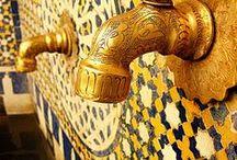 Maroccan interior decoration