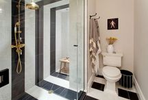 GENEVIEVES RENOVATION- MBR BATH / My house, my bathroom / by genevieve gorder