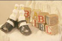 vintage pink baby shower / shower ideas / by Linda Dahl
