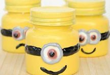 Minion Crafts / minion crafts, minion craft, despicable me craft, minion food ideas, diy minion party, party minion, minion craft ideas, despicable me party food ideas, make a minion, minion food, despicable me crafts, despicable me ideas, minion party ideas diy, minion crafts for kids, minion art, minions party / by AllFreeKidsCrafts