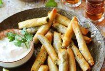 Salty Pastries - Suolaiset leivonnaiset yms