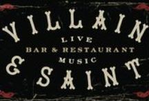 Villain & Saint / Bethesda's downtown live music venue and restaurant.