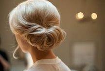 Wedding Hair / Purty wedding day hair.
