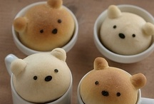 Adorable Foods / Food that is more adorable and stinkin cute than you can imagine. Cupcakes, bread, baked goods even eggs that are so absolutely cute and edible.
