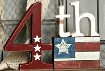 Wood/Vinyl ~ Patriotic / All things wood and vinyl for those who are patriotic! / by Vicki Johnson Hansen