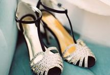 Wedding Shoes / Some fabulous, some sensible shoes for your wedding day.