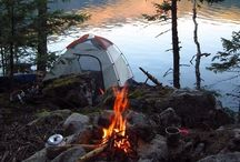 Roughin' it / Ideas, tips and tricks for camping with children. / by SimplySteph :)