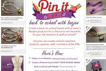 Pin it to Win it - back to school! / by BooJee Beads