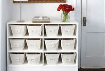 Obsessed with Organizing / Organizing and storage ideas for every room in the house!