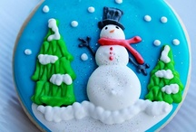 Christmas Cookies / Christmas baking inspiration with a collection of some of the cutest holiday cookies.