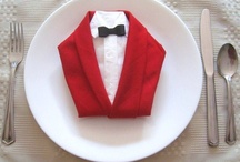 Napkin folding / How to fold a napkin for your next fancy occasion. Ideas, tutorials and inspiration on napkin folding.