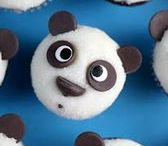 Cupcakes of cuteness / A collection of cupcakes that take cute to a whole new level. Baking inspiration.