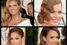 Glitz and Glam / The Hottest hair to hit the red carpet.
