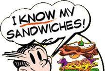 SANDWICHES & WRAPS / Layered eating / by Lou Ann Kissock