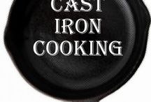 CAST IRON SKILLET COOK'N / Superman metal / by Lou Ann Kissock
