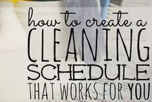 Home: Cleaning, Organizing, Etc.