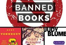 Banned Books / These books have been challenged and/or banned. Read a banned book. Don't close the book on your freedom to read.