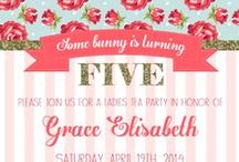 Some Bunny is FIVE!