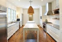 Kitchen / Inspiring kitchens! One of the most important rooms in your home; a gathering place full of family and food...make sure its a place you can enjoy with these design ideas!