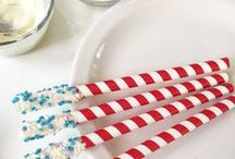 Red White and Blue Patriotic USA 4th of July / party inspiration for 4th of July