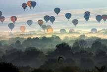 Ballooning / Montgolfières / Beautiful pictures and inspiration with airballon. / by Anncha