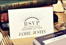 Invitations & Stationery / by OneWed