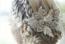 Wedding Hairstyle Inspiration / Hairstyle inspiration for your wedding day. / by OneWed