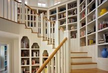 "Bookshelf Space / ""Good as it is to inherit a library, it is better to collect one."" —Augustine Birrell"