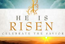 "Christ Is Risen / ""He is not here; for he is risen, as he said. Come, see the place where the Lord lay."" —Matthew 28:6"