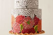 Wedding Cakes and  Wedding Cupcakes / by Roll Tide Rolllllll! (Laura)