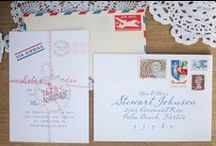 Wedding invitations / by Zilah Rodrigues