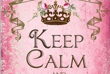 "Keep Calm / ""Keep Calm and Carry On"" was a motivational poster produced by the British government in 1939 during the beginning of World War II. Love all the Keep Calm quotes."