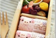Bento / A collection of beautiful bento lunches, kawaii Kyaraben  and great DIY ideas.