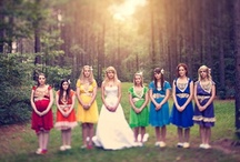 Rainbow Wedding Inspiration / by OneWed