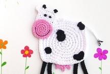 Crochet applique / by Moos De Bruijn-Van Dok