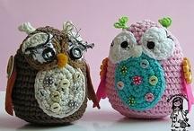 Crochet + DIY bird / owl