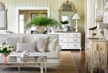 Living Room Inspiration / Where family and friends come together. Beautiful examples from Classic to Modern and everything in between.  / by Beatriz Ball Collection