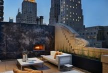 Roof / Roof Terraces, Roofs, Outdoor spaces.