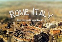 Roma / Visit Roma / Rome Restaurants, museums, cultural, the city ...  / by Anncha