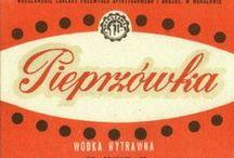 Polish Alcohol / Marki polskich wódek i likierów. #Poland #Alcohol #Koneser #Factory #Label