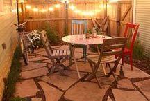backyard ideas / by Chelsea Snyder