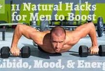 Men's Health / Information for men on various topics such as health, exercise, relationships, etc.
