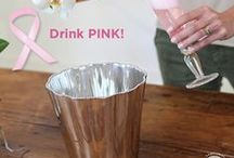 PINK COCKTAILS / Support Breast Cancer Awareness and Celebrate the Victories of Healing.  Pin a favorite pink cocktail in October.  Use hashtag #beatrizballpinkcocktails.  Winner selected at random and wins the Denisse Ice Bucket.  / by Beatriz Ball Collection
