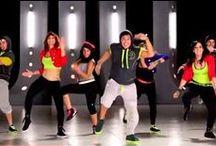 Zumba Fitness / Vídeos con coreografías de Zumba. Infografías, artículos, música, ropa, información. #zumba
