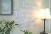 HappyHomeCards.com / Das ganze Alphabet aus Dekorkarten! Schreibe Namen, Daten, Hinweise, Lieblingsworte, Komplimente und vieles mehr!
