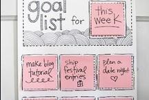 Organizing and planning / by Sherita Blasen