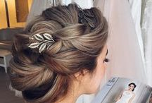 Textured Hair Styles / Wedding hair styles that have curl, texure and movement!