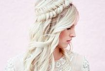 Bridal Hair Inspiration / Gorgeous bridal hair ideas to inspire the bride and her bridesmaids!